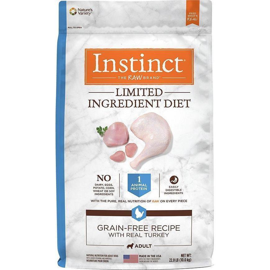 croquetas para perro instinct alimento para perro lid limited ingrediente diet pavo
