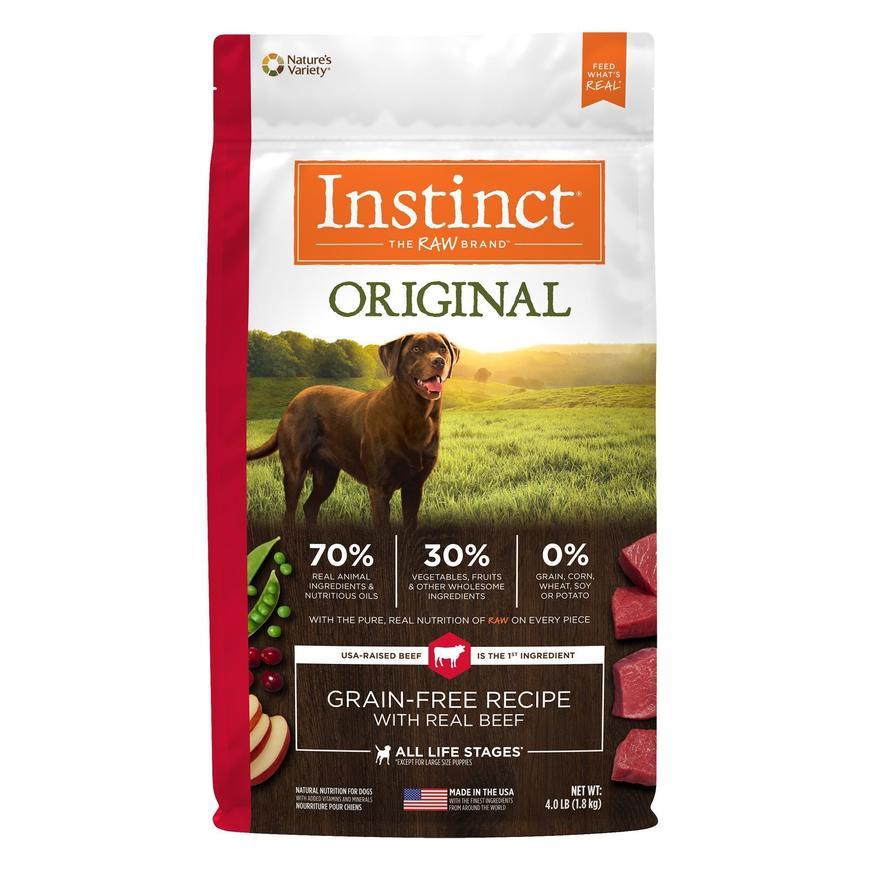 instinct alimento para perro original res
