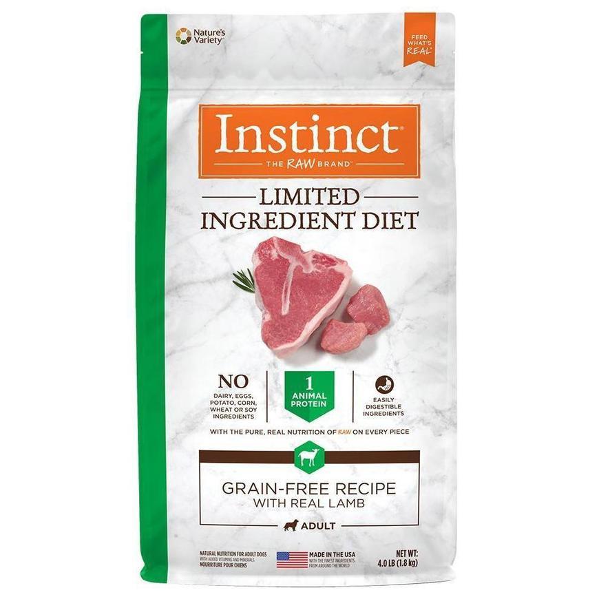 alimento para perro lid limited ingrediente diet cordero