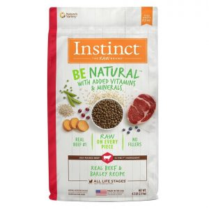 nstinct alimento para perro be natural res