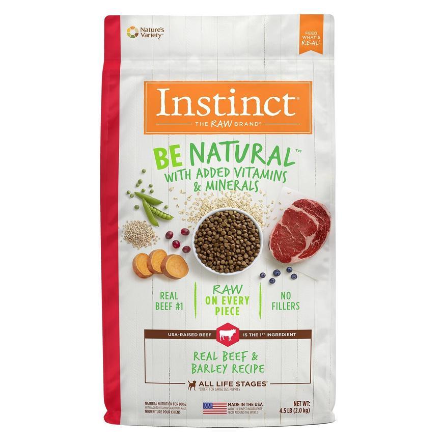 nstinct alimento para perro be natural res