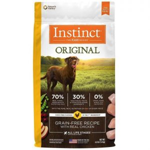 instinct alimento para perro original pollo